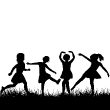 depositphotos_5446952-Black-children-silhouettes-playing